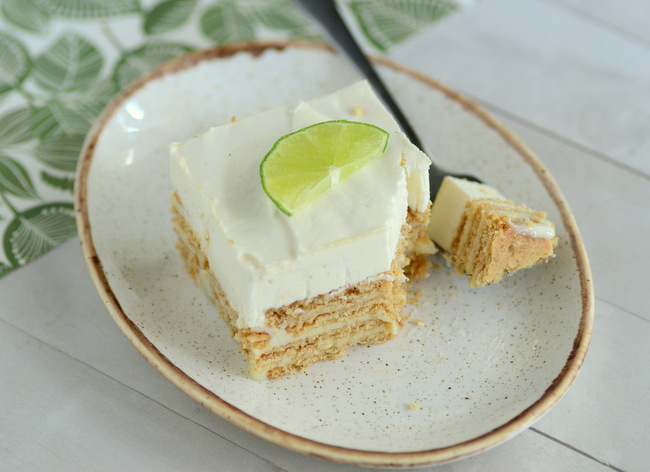 Key Lime Pie Icebox Cake