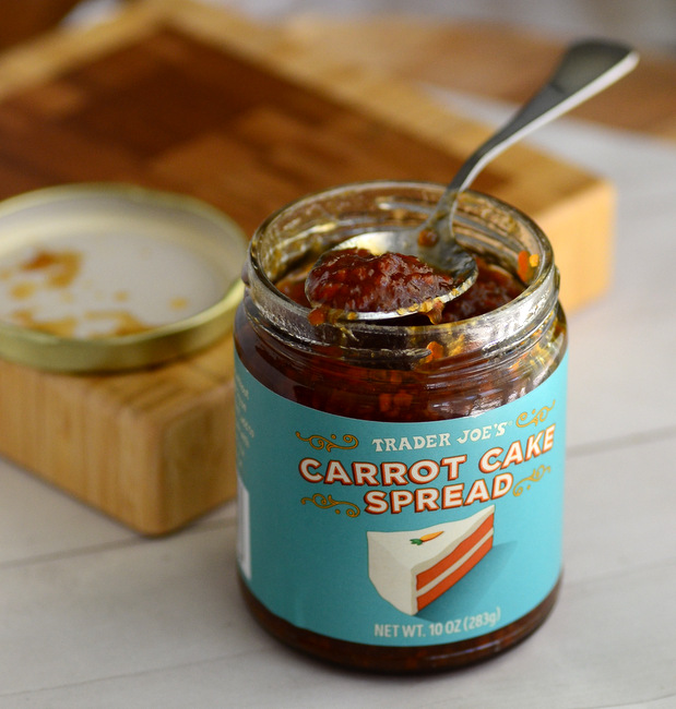 Trader Joe's Carrot Cake Spread, reviewed