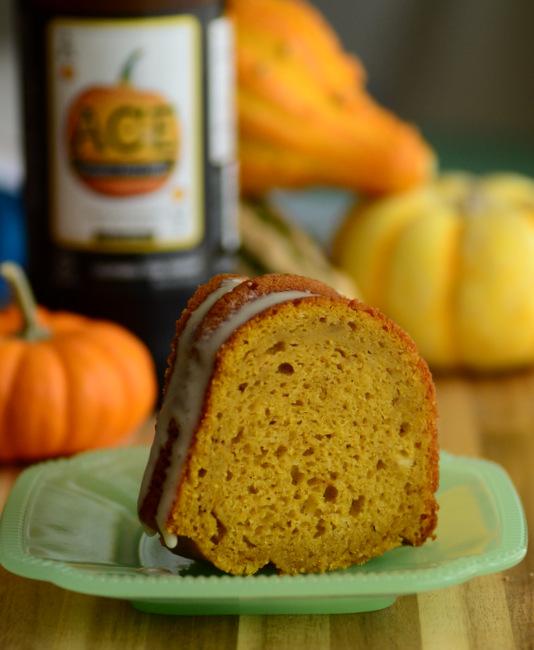 Pumpkin Cider Bundt Cake