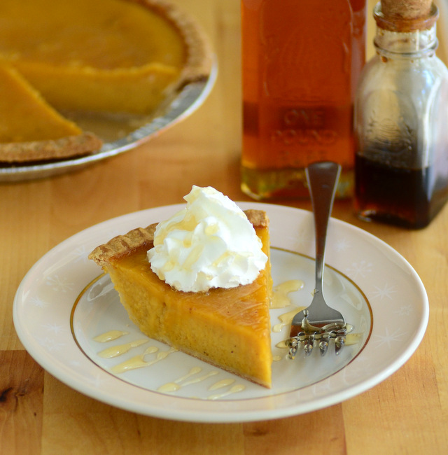 Butternut Squash and Honey Pie