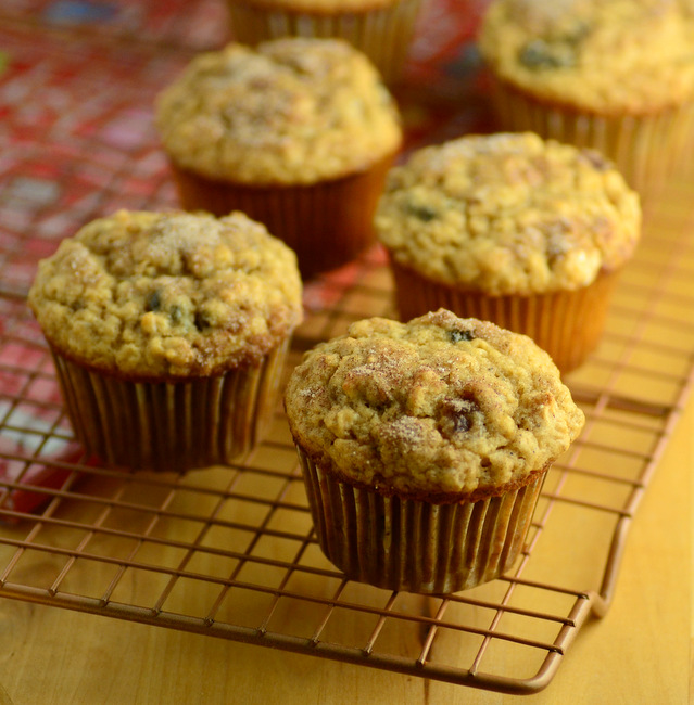 Mincemeat Oatmeal Muffins