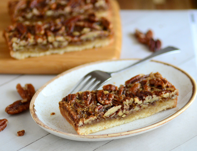 Small Batch Pecan Pie Bars
