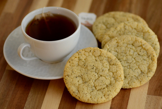 Earl Grey and Vanilla Sugar Cookies