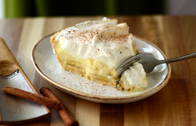 Cinnamon-Kissed Banana Cream Pie
