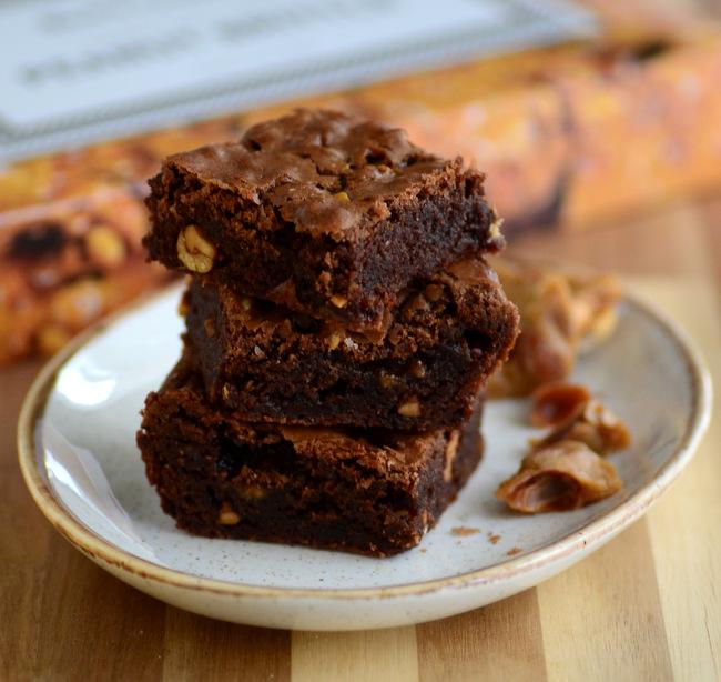 Peanut Brittle Brownies
