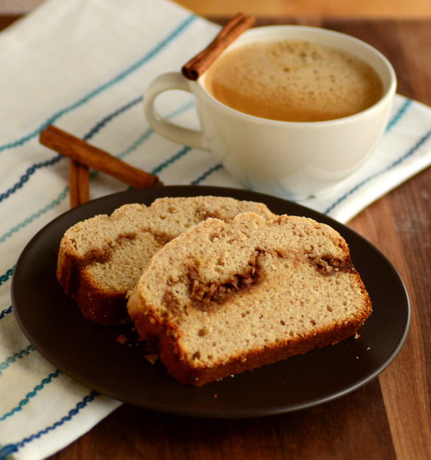 Cinnamon Coconut Swirl Coffee Cake