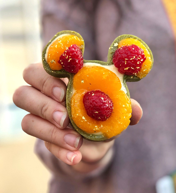 Green Tea Mandarin Orange Tart at DCA Lunar New Year 2019