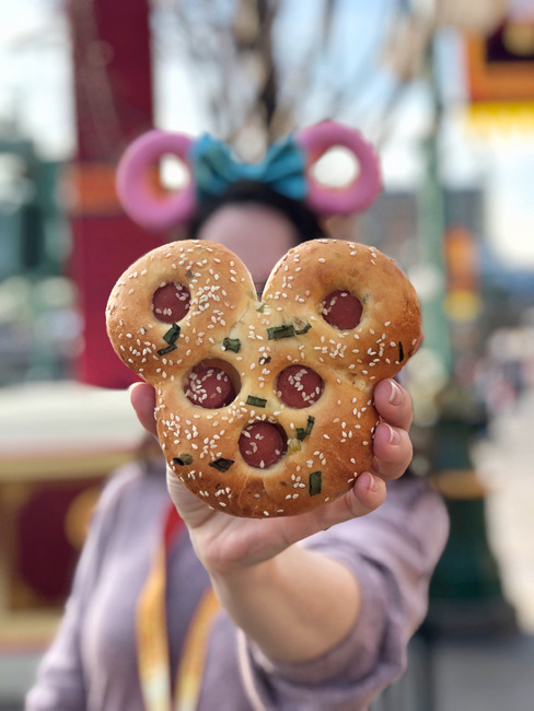 Mickey Hot Dog Bun at DCA Lunar New Year 2019