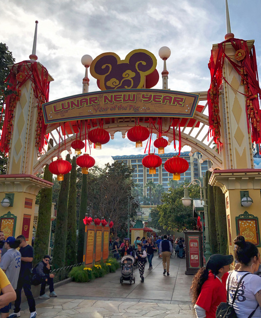 Celebrating the Lunar New Year at Disney California Adventure