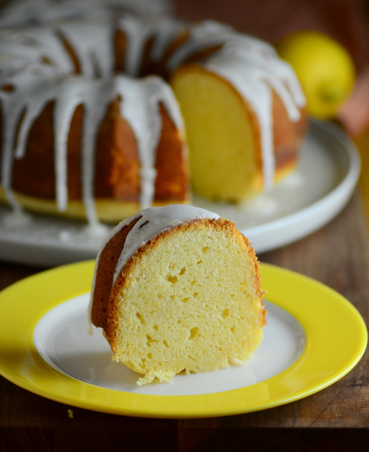 Lemon Sour Cream Bundt Cake