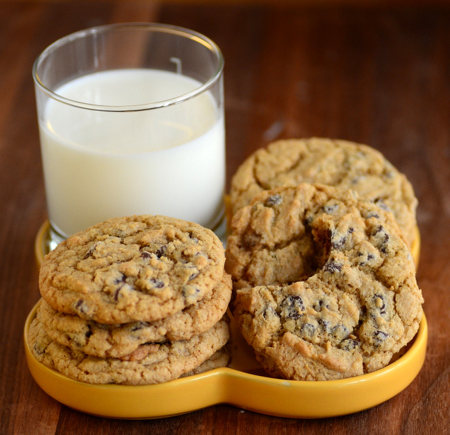 Perfect Whole Wheat Chocolate Chip Cookies