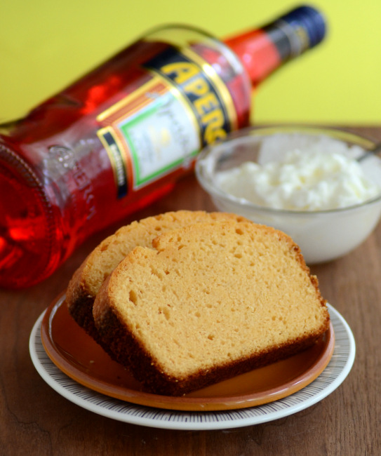 Aperol and Olive Oil Pound Cake