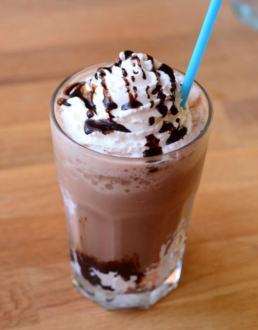 Homemade S'mores Frappuccino
