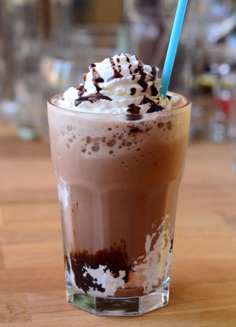 Homemade Smores Frappuccino