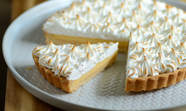 Trader Joe's Lemon Meringue Tarte, reviewed