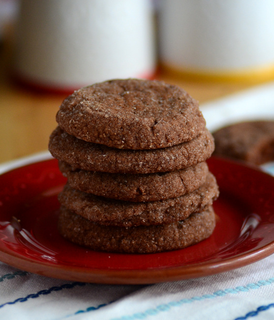 Chocolate Almond Sandies