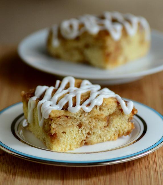 Easy No-Knead Cinnamon Bun Bread