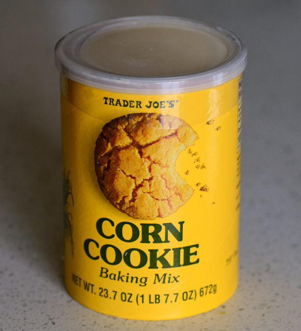 Trader Joe's Corn Cookie Baking Mix, reviewed