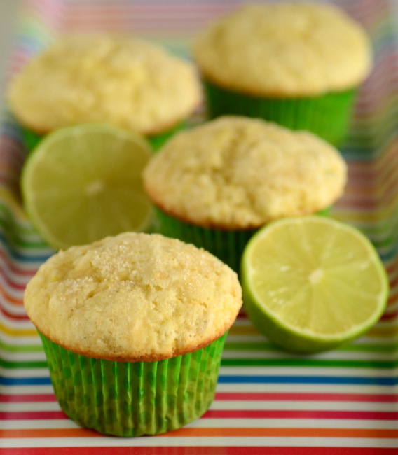 Buttermilk Lime Muffins